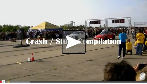 Video: Car Crash / Stunt Compilation 2013 - Auto, Video, youtube.