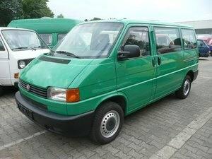 VW T4 Kombi 2.5 G-Kat * 2x Schiebetüre *